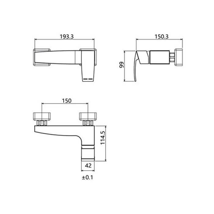 شیر توالت شودر مشخصات مدل باواریا