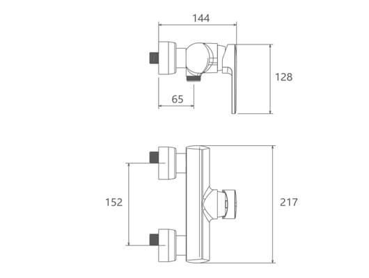 شیر توالت شودر مشخصات مدل لیون