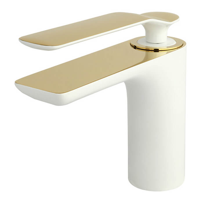 شیر روشویی راسان ویولت سفید طلا