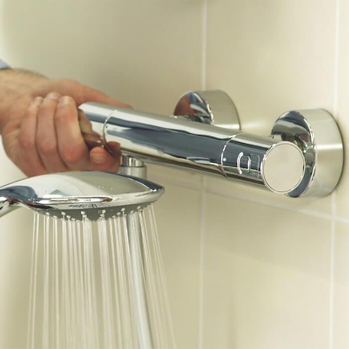 راهنمای نصب شیر حمام