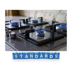 استاندارد گاز آشپزخانه